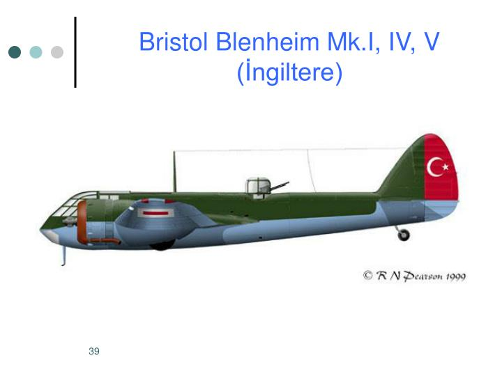 Bristol Blenheim Mk.I, IV, V