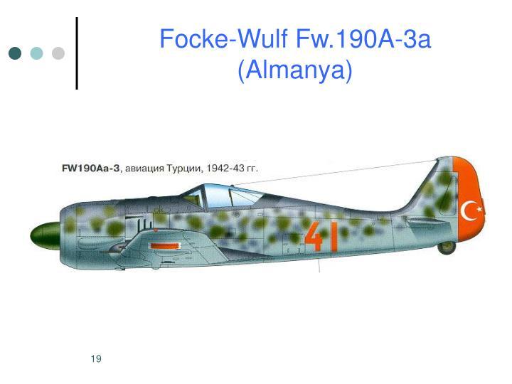 Focke-Wulf Fw.190A-3a