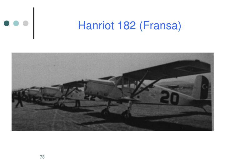 Hanriot 182 (Fransa)
