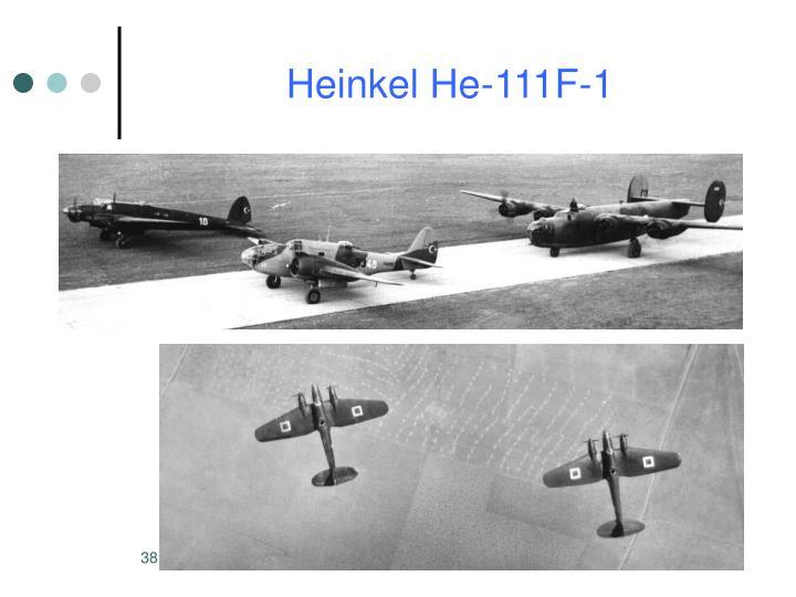 Heinkel He-111F-1