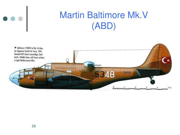 Martin Baltimore Mk.V