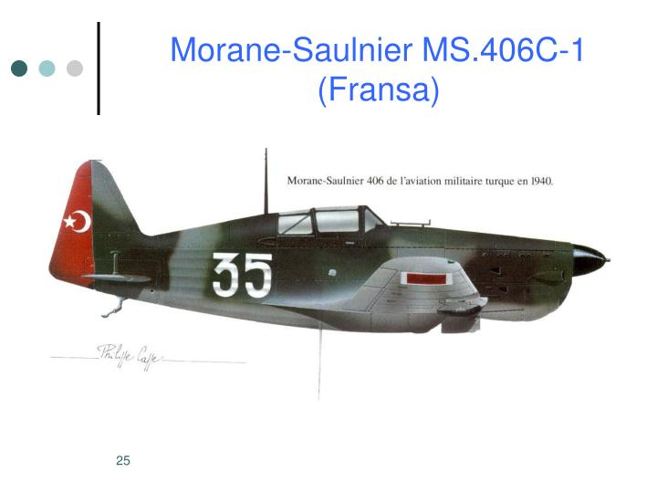Morane-Saulnier MS.406C-1