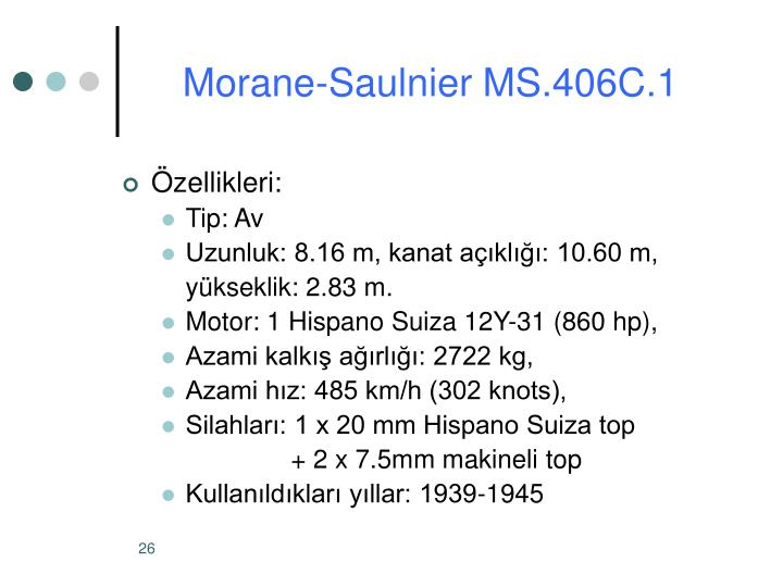 Morane-Saulnier MS.406C.1