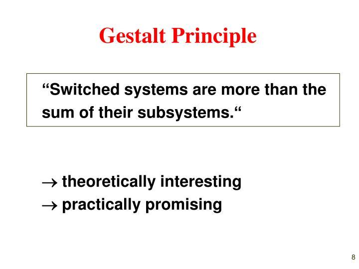 Gestalt Principle