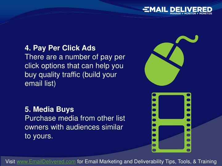 4. Pay Per Click