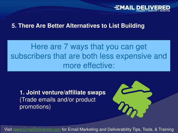 5. There Are Better Alternatives to List