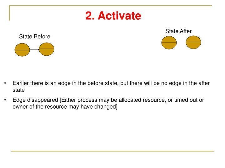 2. Activate