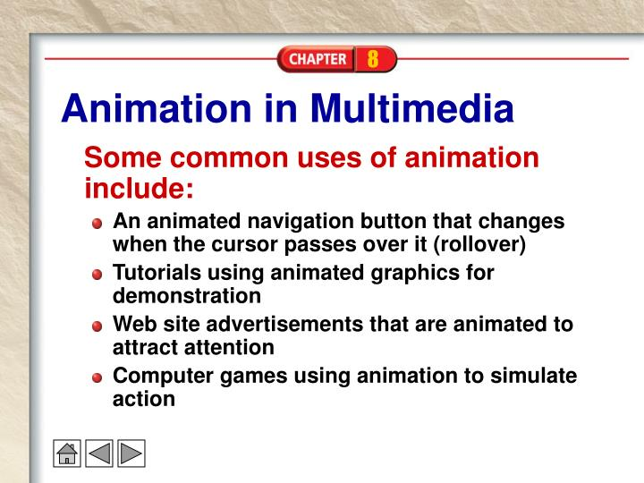 Animation in Multimedia