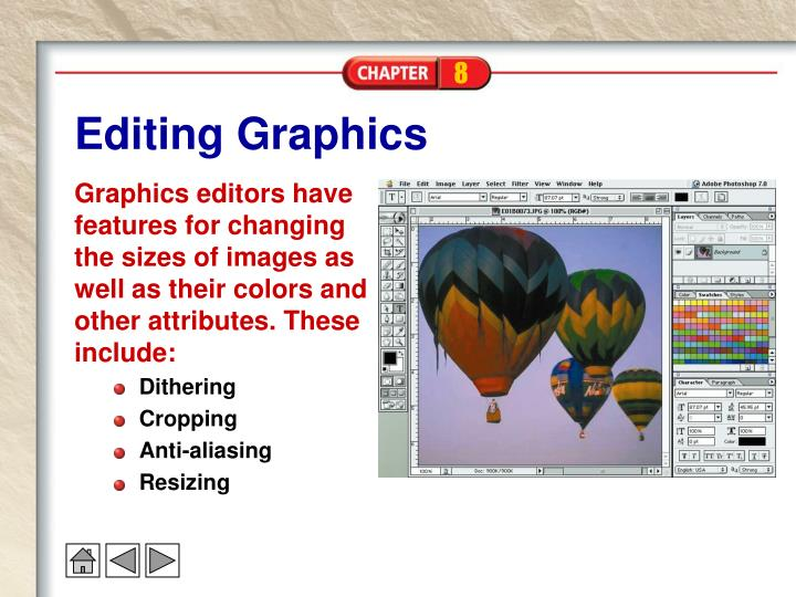 Editing Graphics