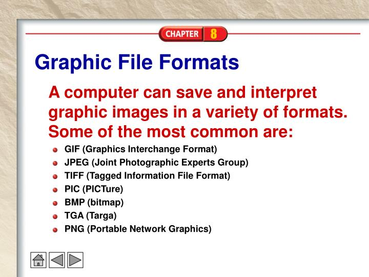 Graphic File Formats