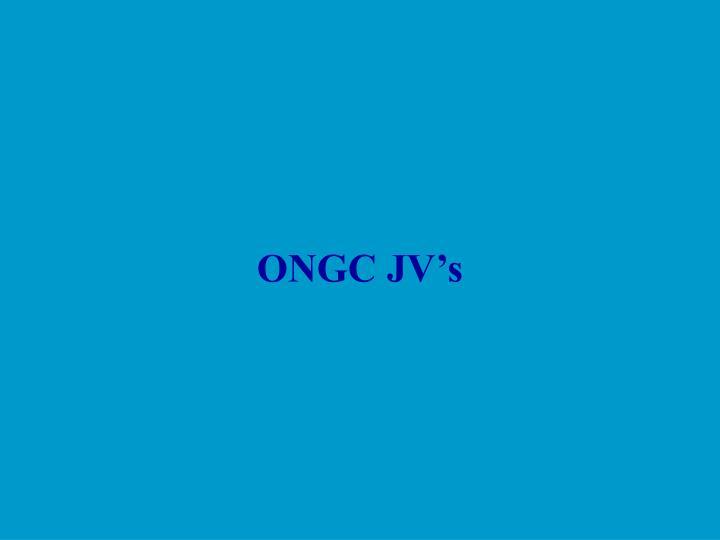 ONGC JV's