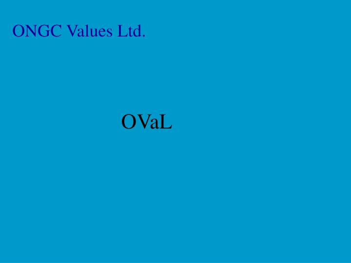 Ongc values ltd
