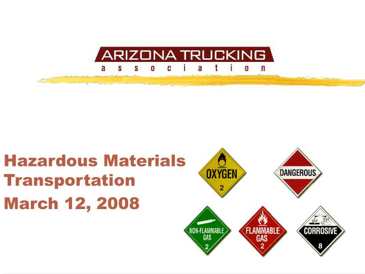 hazardous materials transport and research paper