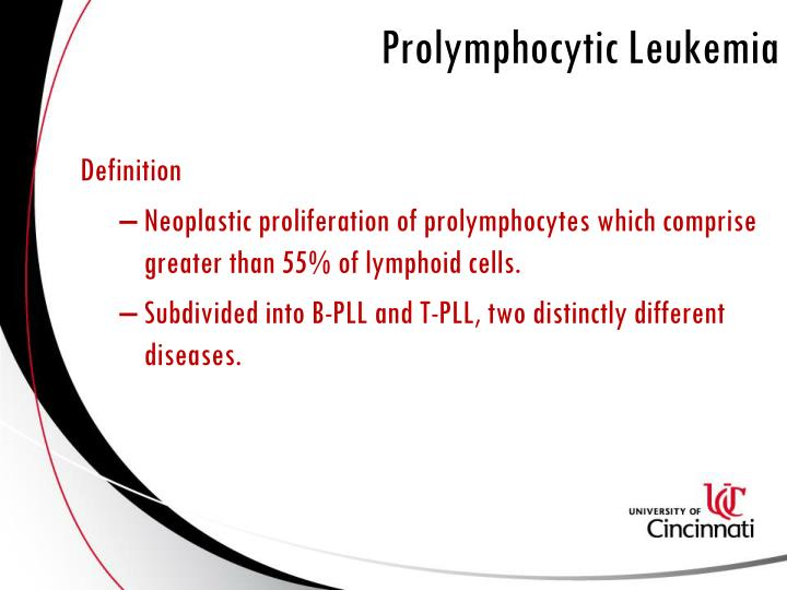 Prolymphocytic Leukemia