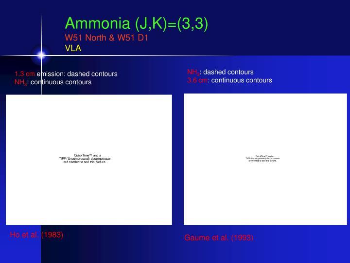 Ammonia (J,K)=(3,3)