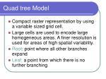 quad tree model