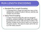 run length encoding