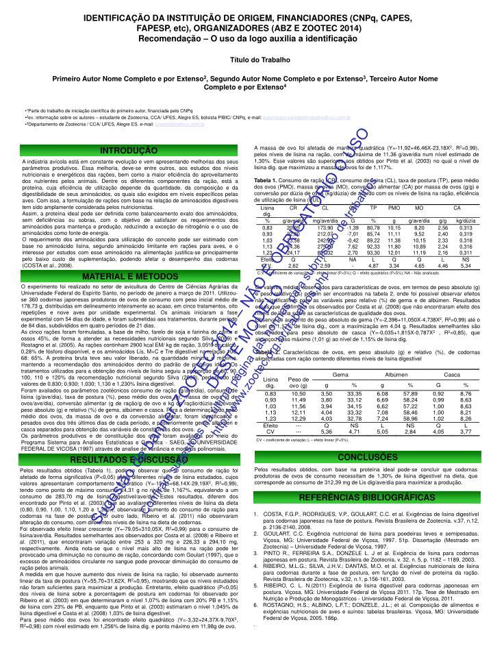 IDENTIFICAÇÃO DA INSTITUIÇÃO DE ORIGEM, FINANCIADORES (CNPq, CAPES,