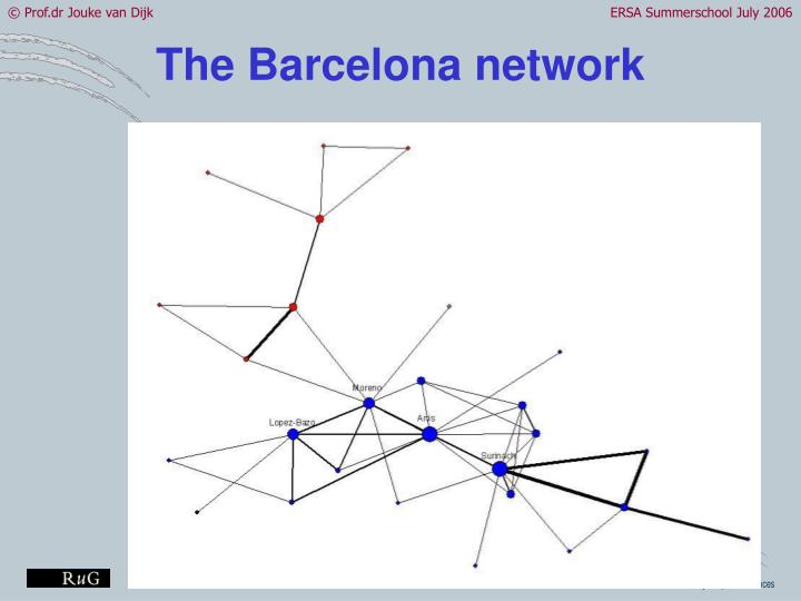 The Barcelona network