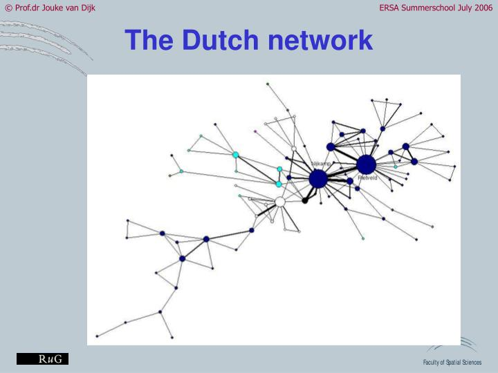 The Dutch network