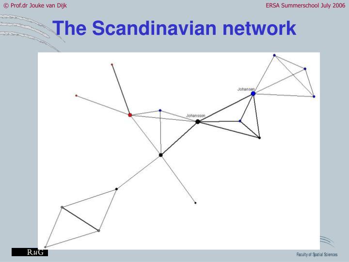 The Scandinavian network