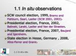 1 1 in situ observations