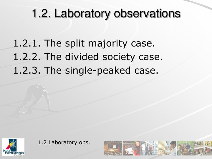 1.2. Laboratory observations