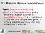 3 1 classical electoral competition 2 3