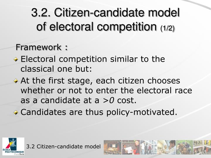 3.2. Citizen-candidate model