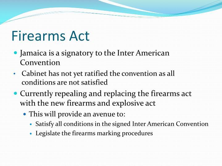 Firearms Act