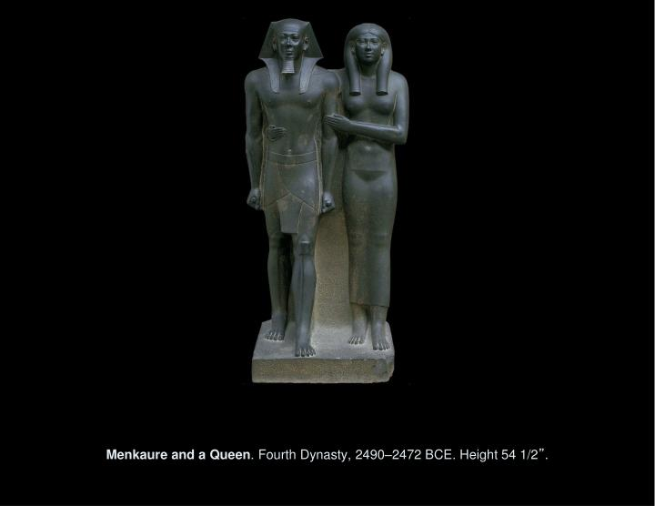 Menkaure and a Queen