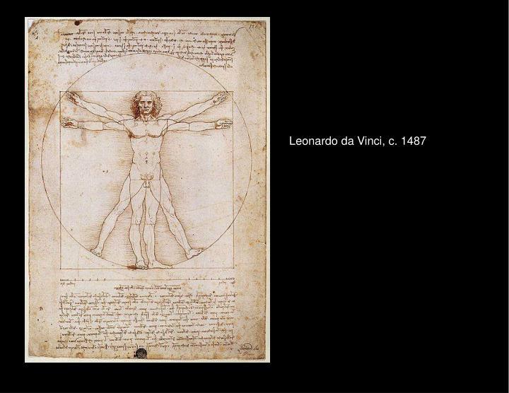 Leonardo da Vinci, c. 1487
