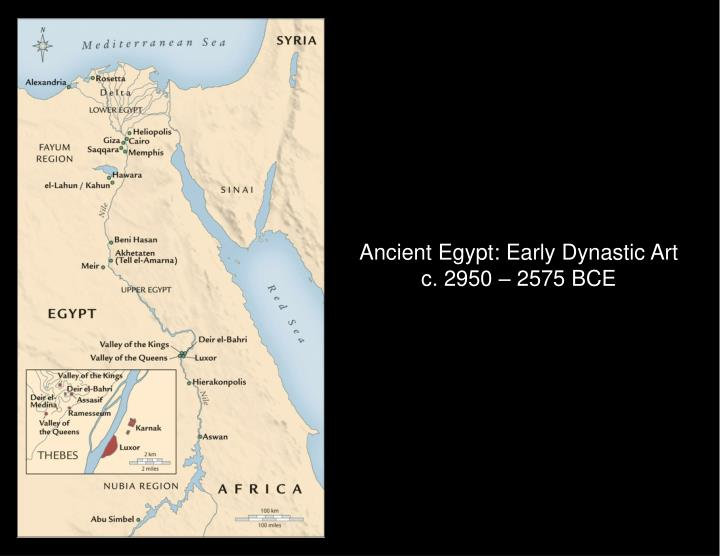 Ancient Egypt: Early Dynastic Art