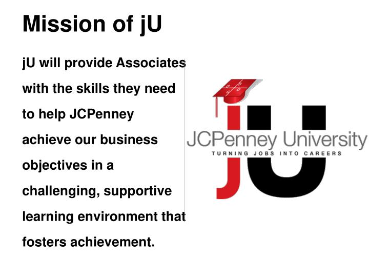 Mission of jU