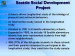 seattle social development project