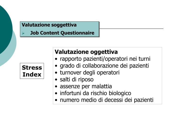 Valutazione oggettiva