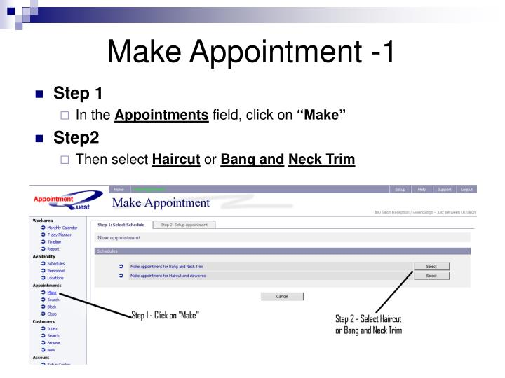 Make Appointment -1