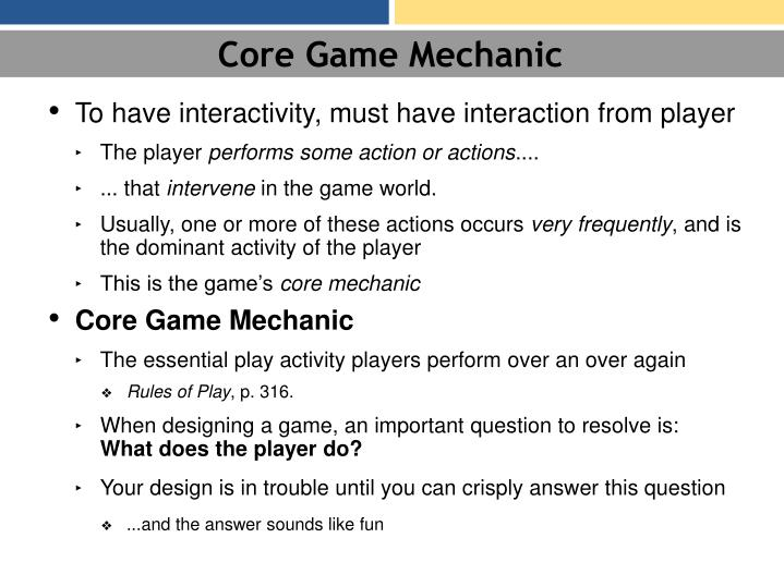 Core Game Mechanic