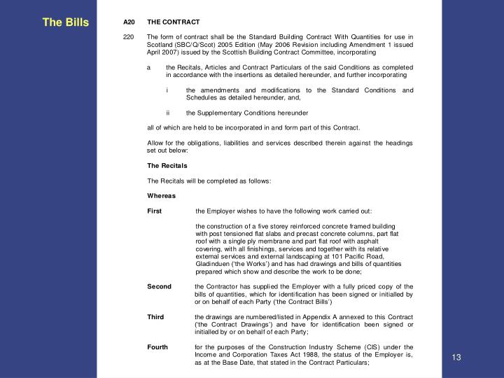 The Bills