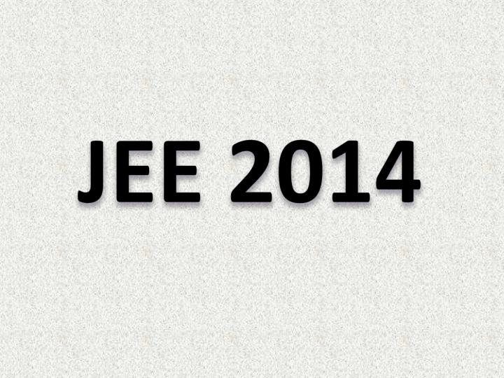 JEE 2014
