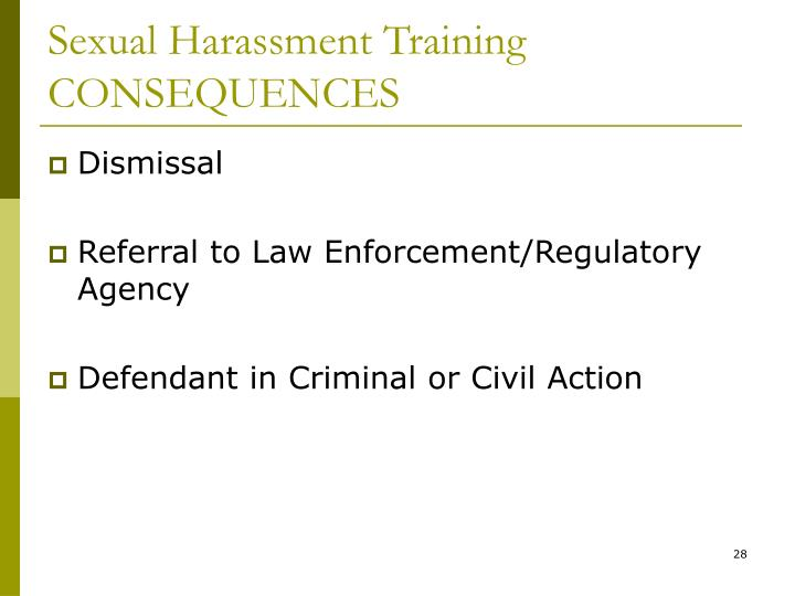 Sexual harrasment guild business law