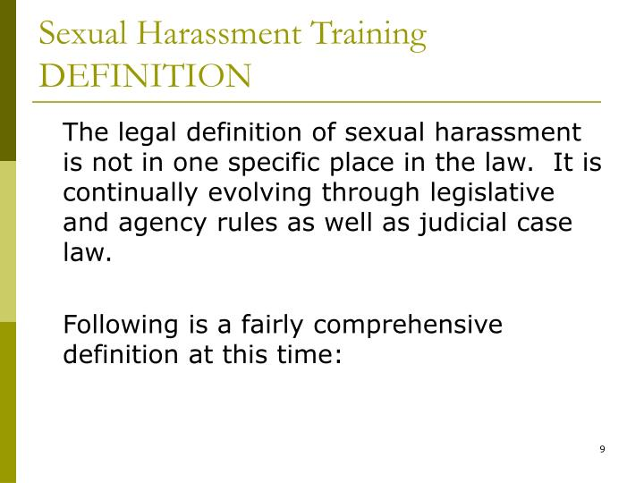 an analysis of sexual harassment in united states John e potter postmaster general, ceo postal service policy on sexual harassment the united states postal service is committed to providing a work environment free of sexual harassment and inappropriate sexual conduct.