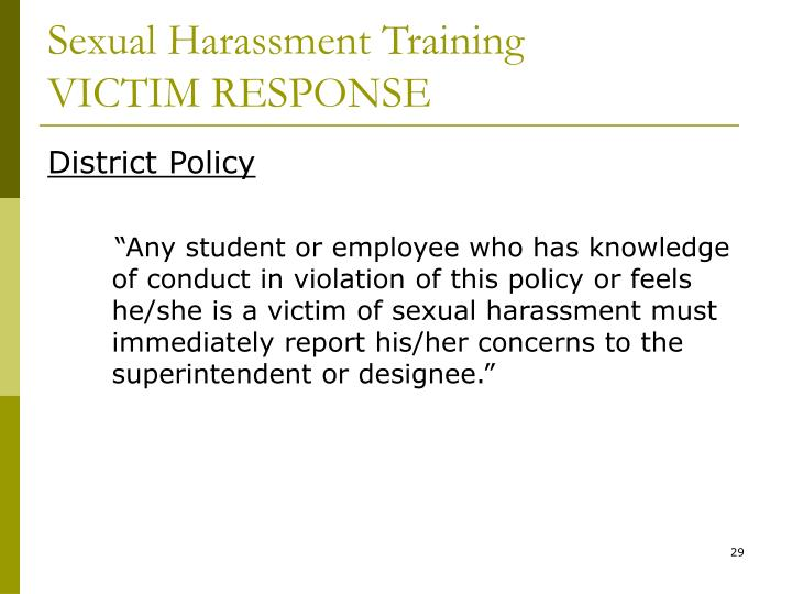 Consider, ohio sexual harassment law