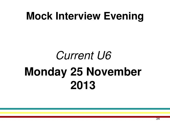 Mock Interview Evening