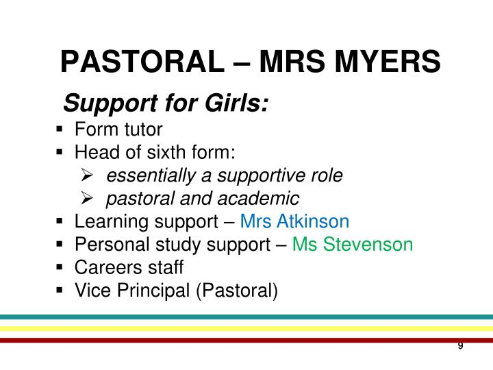 Support for Girls: