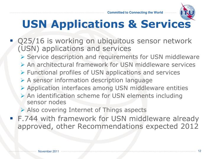 USN Applications & Services