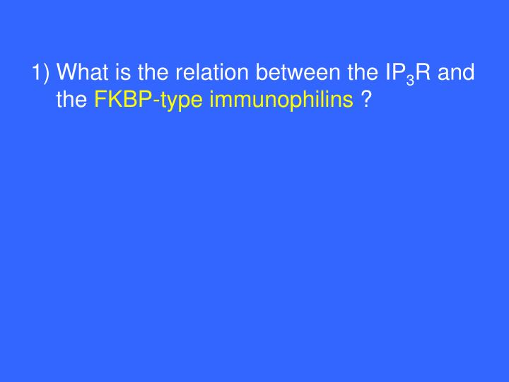 What is the relation between the IP