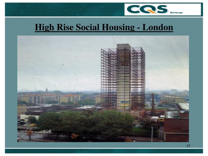 High Rise Social Housing - London