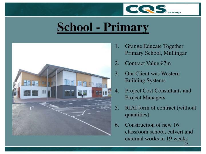 School - Primary