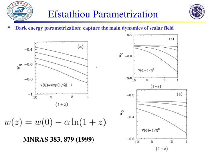Efstathiou Parametrization